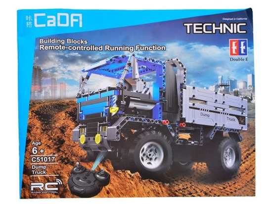 Toy build blocks 638e on the remote control 2in1 EE RC0371