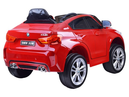 Toy car for the BMW X6 battery new model PA0215
