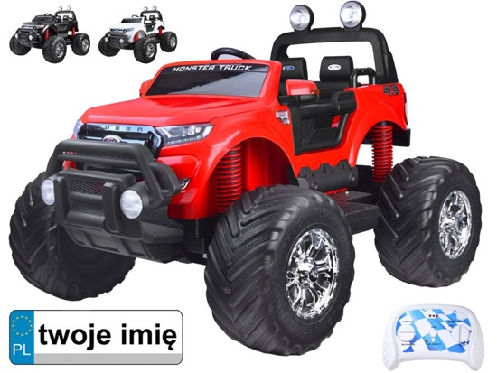 Toy car on accumulator FORD RANGER Monster Truck PA0208