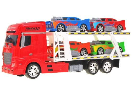 Transporter with cars Large auto tir toy cars FOR 1600