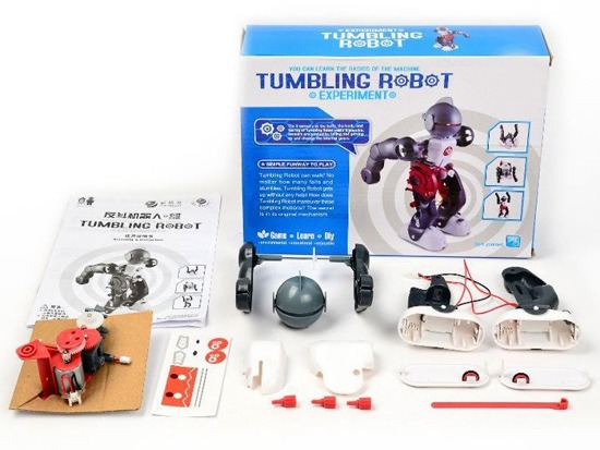 Tumbling Robot educational toy ZA1847