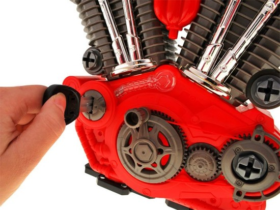 Unscrew Engine toy for mechanics ZA1170