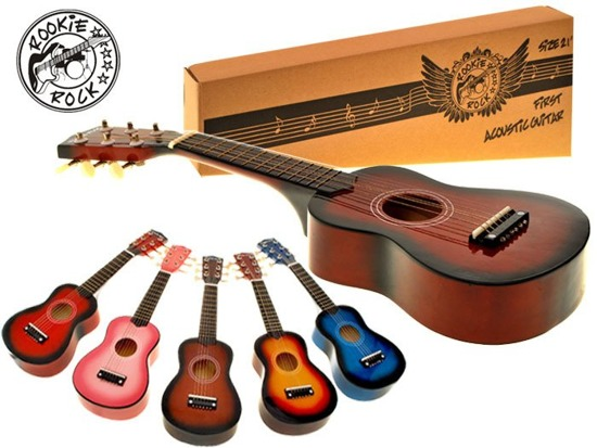 WOODEN CLASSIC GUITAR + BAR COLORS IN0030