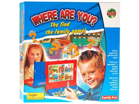 Where are You? Family game Where are you? GR0148