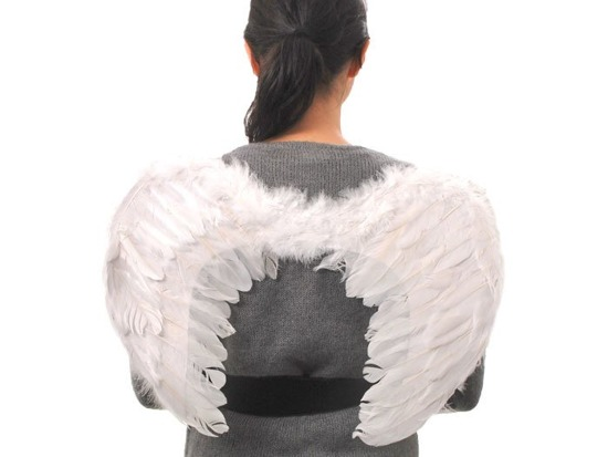 White feathers ANGEL WINGS cribs ZA1318