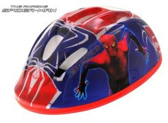 Regulowany Kask S Spiderman na rower SP0172