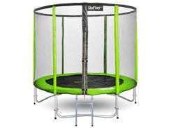 TRAMPOLINA SKYFLYER RING 2in1 244CM 8FT + Gratisy