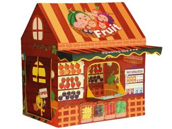 Namioty ogrodowe dla dzieci. Domki materiałowe sklep