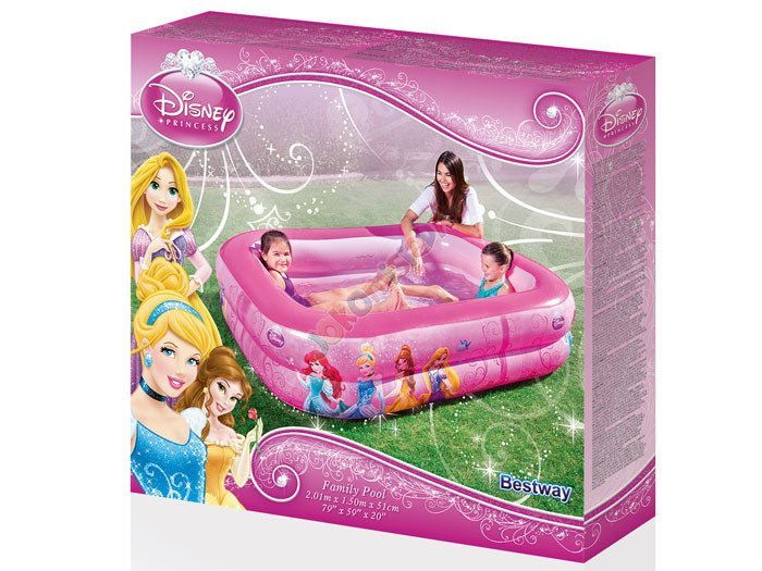 Bestway Basen dmuchany 201cm Disney Princess 91056