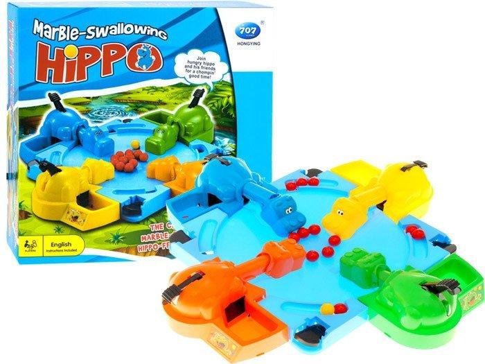 Głodne Hipopotamy Wesoła Gra Rodzinna Gr0145
