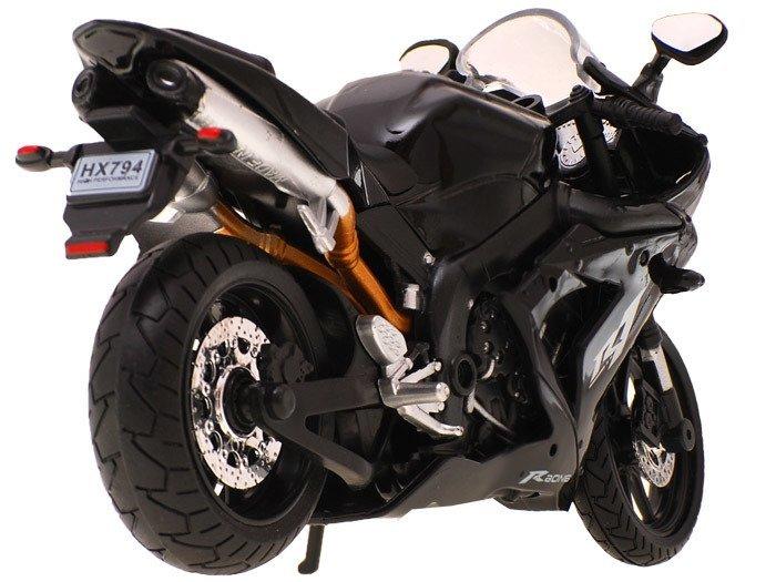 Niewiarygodnie Metalowy Motor Skala 1:12 ścigacz turystyk ZA1165 | Zabawki dla VL41