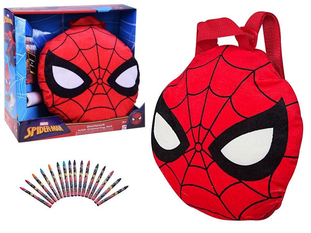 d5b99c67d1d01 Miękki plecak Spiderman kredki kolorowanka ZA2699 | Zabawki dla ...
