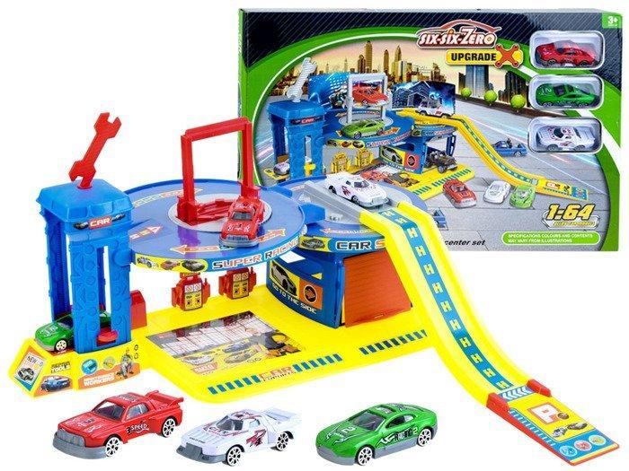 Parking Warsztat Mechanik Piętrowy Garaż Za0879 Zabawki Dla Dzieci
