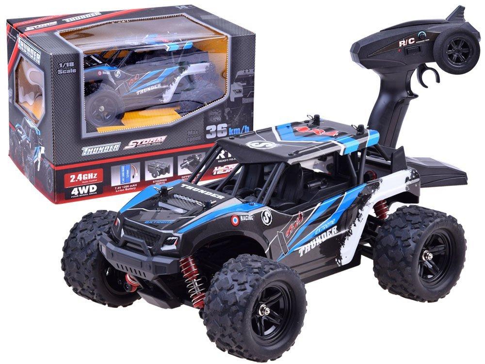 Zdalnie Sterowane Szybkie Auto 4x4 36kmh Rc0423 Zabawki Dla