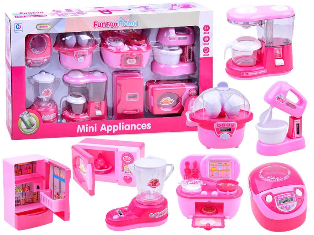 Zestaw Kuchenny Małe Agd Zabawki Do Kuchni Za2442